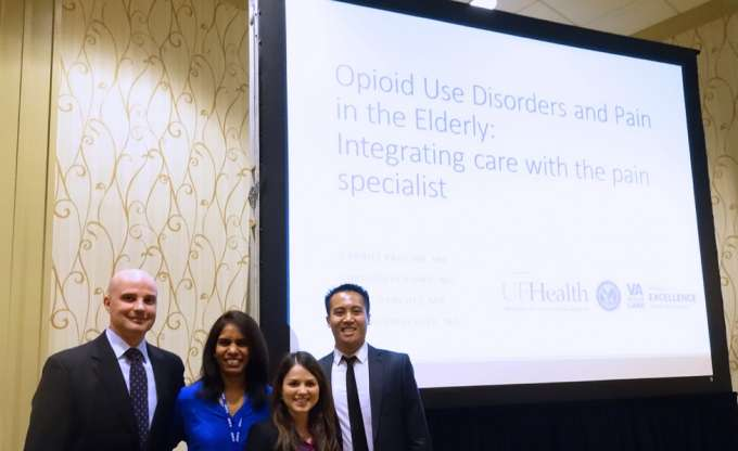 UF Department of Psychiatry members present at the AAGP Annual Meeting
