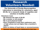 Research Volunteers