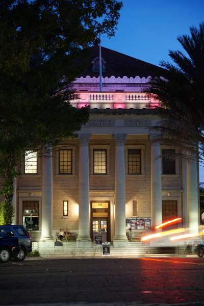 The Hippodrome Theatre in downtown Gainesville
