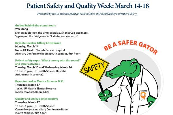 2016 Patient Safety & Quality Week