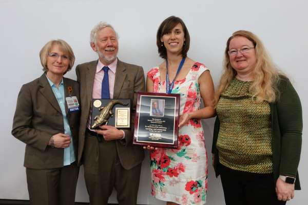 Kim Museser recieves award
