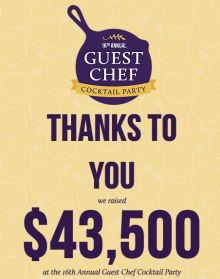 2017 Guest Chef