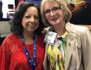 Priscilla Spence and Dr. Bussing at the APA Annual Meeting