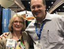 Dr. Regina Bussing and Dr. Jurgen Untuzer at APA