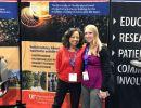 Priscilla Spence and Dr. Katrina Kise at the UF booth at APA