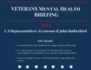 Veterans Mental Health BrThornton DC Veterans Mental Healthiefing flier