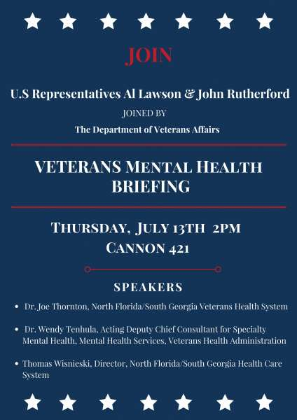 Veterans Mental Health Briefing