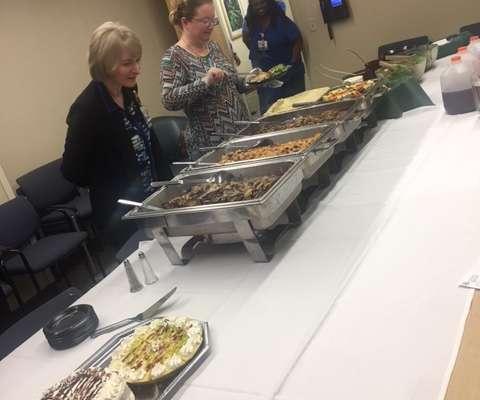 Michael Nias farewell lunch