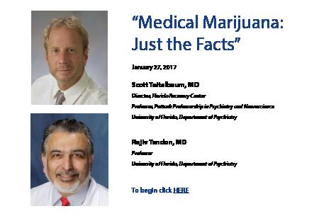 Medical Marijuana: Just the Facts