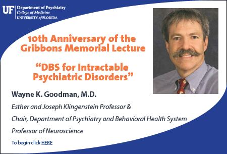 Wayne Goodman, MD CME