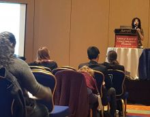 Miriam Rahmani, MD presents at the AACAP Conference in Washington, DC