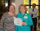 Dr. Hobbs and Susan Harre, MSN, RN