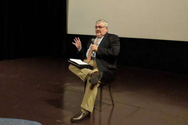 UF Child & Adolescent Psychiatrist Andres Pumariega, MD leading discussion about the movie
