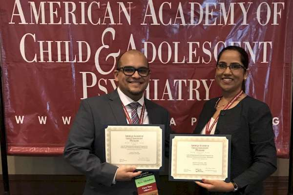 Leal and Andrews receive award