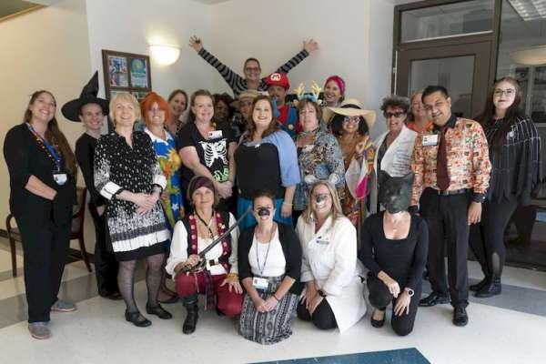Staff Halloween Meeting