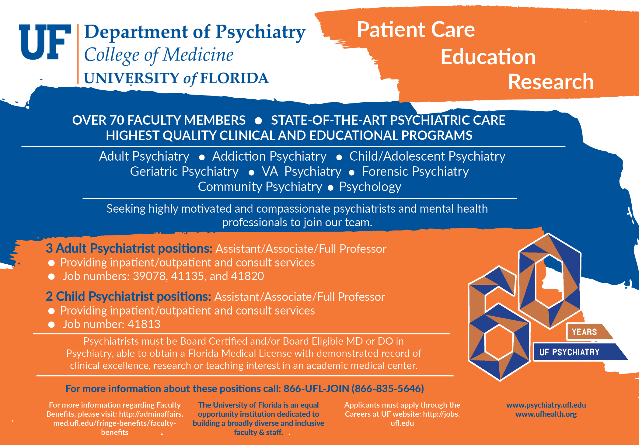 Department Of Psychiatry College Of Medicine University Of Florida