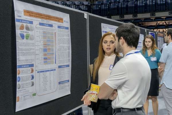 Karla Claudio from Dr. Carol Mathews' lab