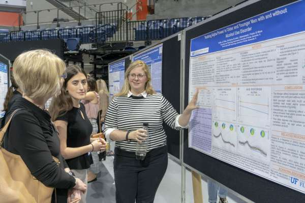 Julianne Price & Natalie Rilo from Dr. Sara Jo Nixon's Neurocognitive Lab