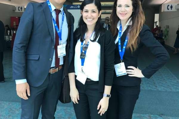 Drs. Chris Ong, Yuliet Soto, Krista Pinard