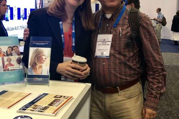 Dawn Bruijnzeel, MD and Julio Delgado, MD
