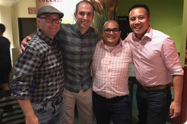 Drs. Richard Holbert, Bruce Bassi, Camilo Leal, Chris Ong