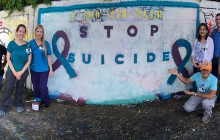 Suicide Prevention Week Mural