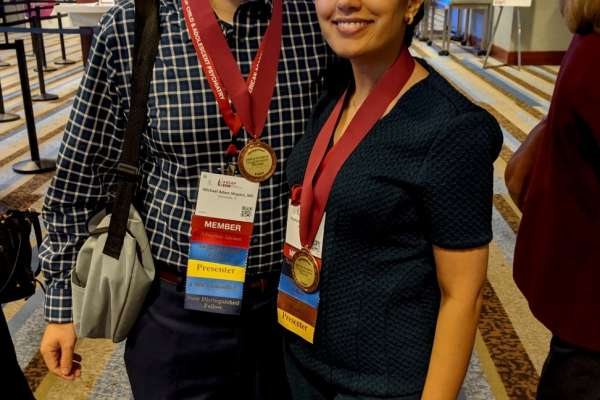 Dr. Rahmani and Shapiro were recognized as Distinguished Fellows of AACAP