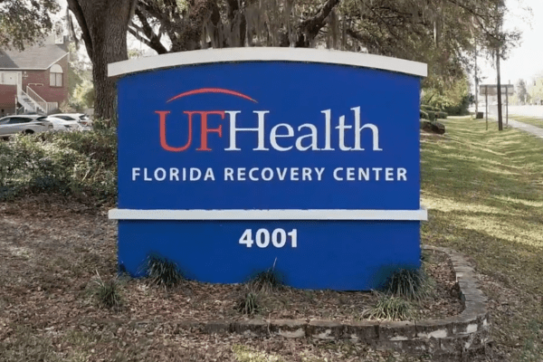 UF Health Florida Recovery Sign