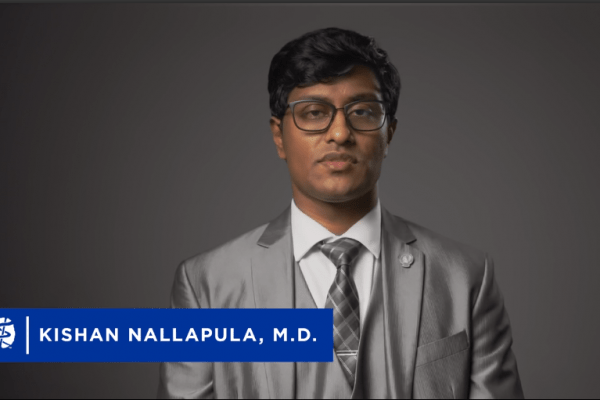 Kishan Nallapula on APA vlog for telepsychiatry