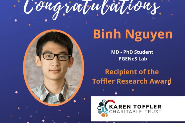 Toffler Award 2021 Winner Binh Nguyen