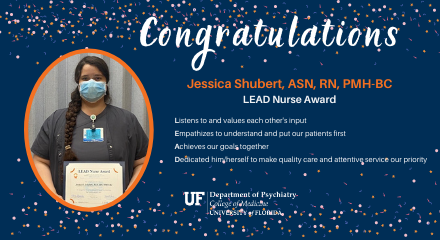 Jessica Shubert LEAD Award