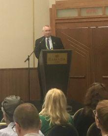 Dr. Joe Thornton at the World Bioethics Congress