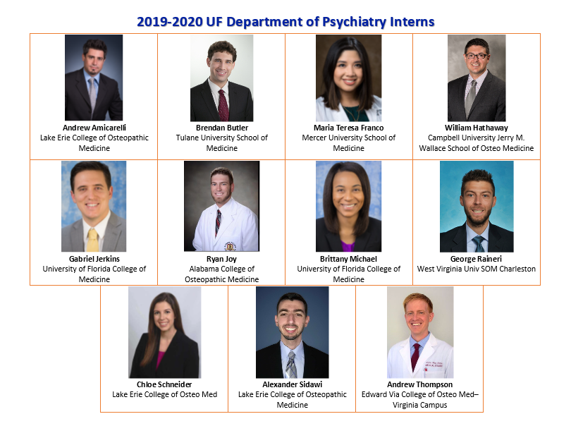 Uf Academic Calendar 2020 2019 2020 New Residents » Department of Psychiatry » College of