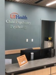 Child psychiatry front desk