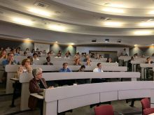World Bioethics Day attendees