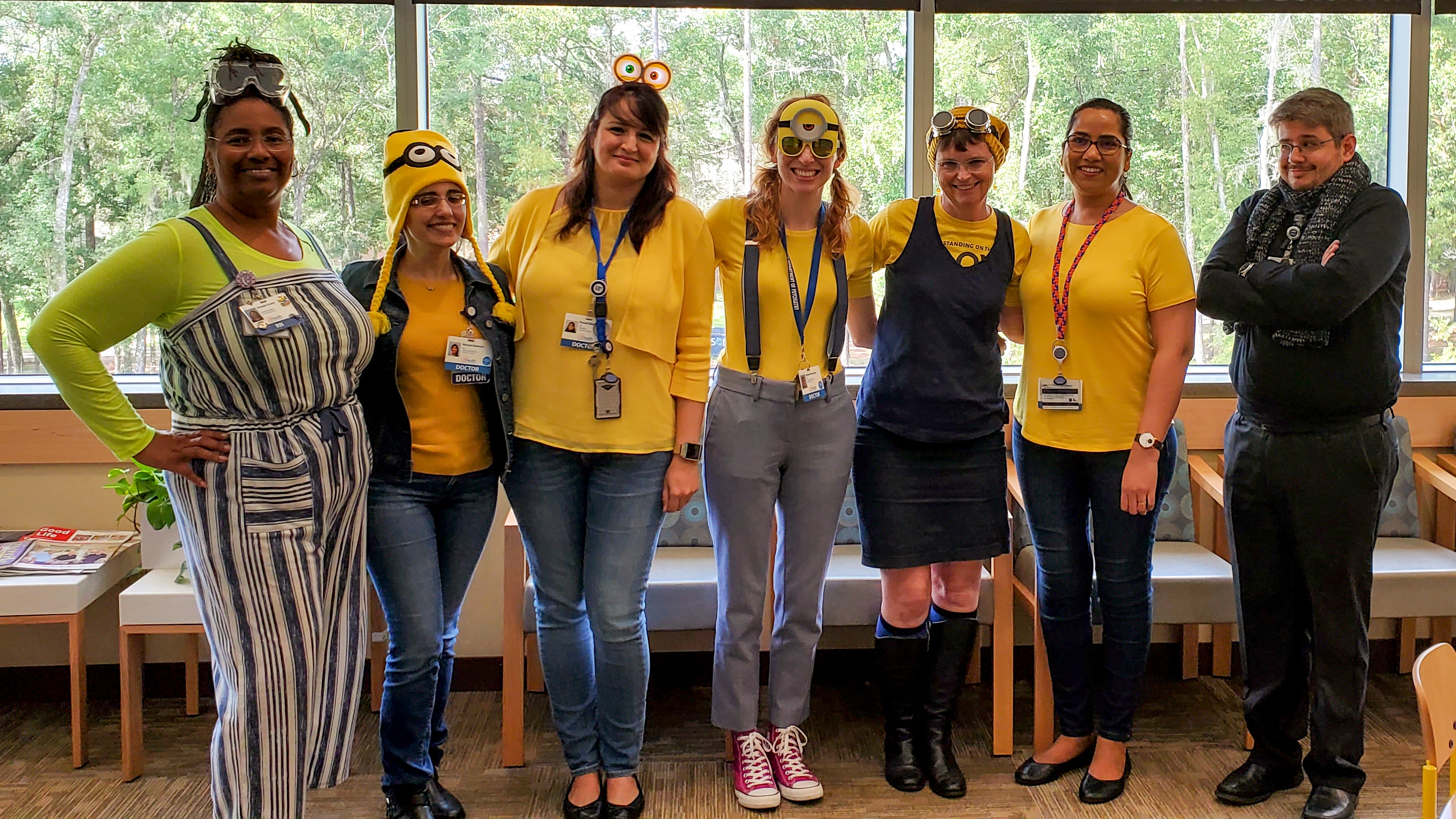 DCAP Group Halloween Costume - Minions