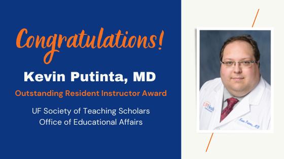 Kevin Putinta Teaching Award